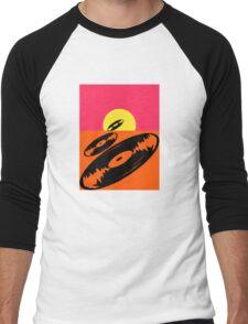 Pop Art Vinyl Record Endless Men's Baseball ¾ T-Shirt