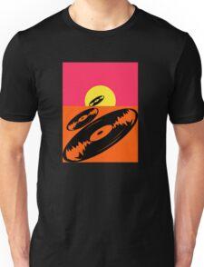Pop Art Vinyl Record Endless Unisex T-Shirt