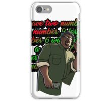 Big Smoke's Order iPhone Case/Skin