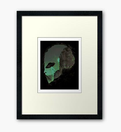 I WANT TO LEAVE POPLE Framed Print