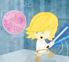 Star Wars babies - inspired by Luke Skywalker by GinormousRobot