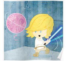 Star Wars babies - inspired by Luke Skywalker Poster