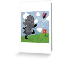 Star Wars babies - inspired by Darth Vader Greeting Card