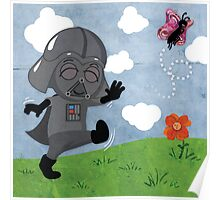 Star Wars babies - inspired by Darth Vader Poster