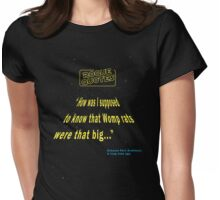 Rogue Quotes - Exhaust Port Architect Womens Fitted T-Shirt