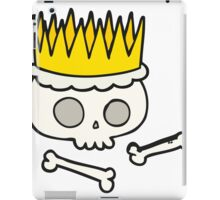 cartoon crown iPad Case/Skin