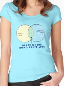 Where Bono Can't Live Women's Fitted Scoop T-Shirt