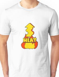 cartoon heat rising  Unisex T-Shirt