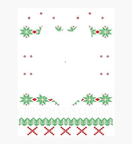 Christmas Is Coming  Photographic Print