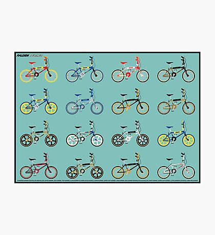 Raleigh burner series 83-85 Photographic Print