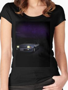 Night Nissan N13 EXA Women's Fitted Scoop T-Shirt