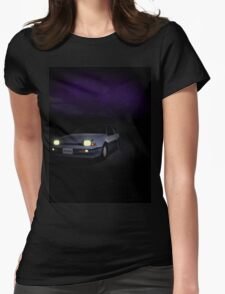 Night Nissan N13 EXA Womens Fitted T-Shirt