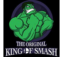 The Original King of Smash (Green Edition) Photographic Print