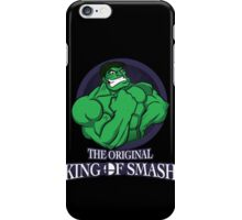 The Original King of Smash (Green Edition) iPhone Case/Skin