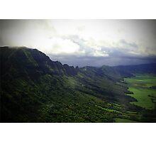 Green Giants Valley - Napali Coast - Kauai  Photographic Print
