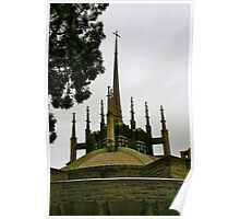 Newman College spire Poster