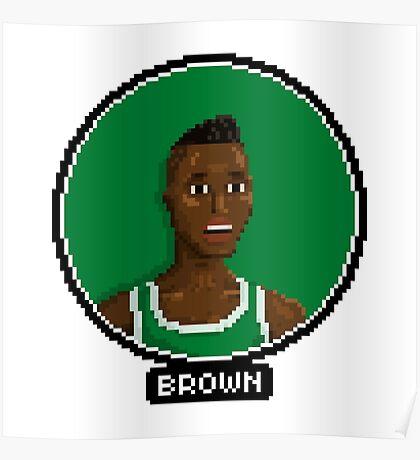 Dee Brown - Celtics Poster