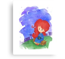 Doctor Who babies - inspired by Amy Pond Canvas Print