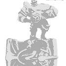 League of Legends - Braum by JellyBeanie