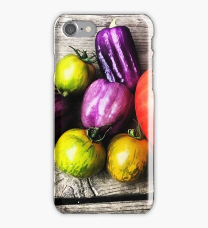 Tomatoes & Peppers iPhone Case/Skin