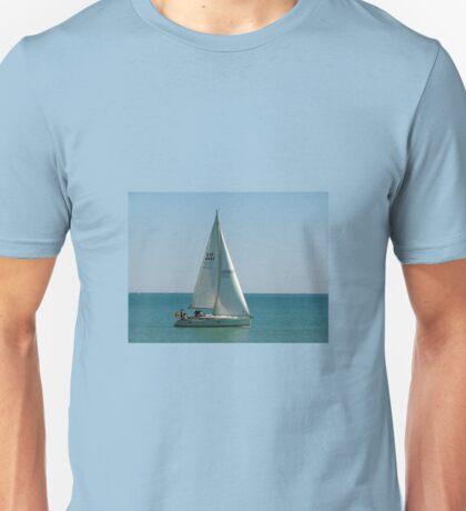 Velero en el Mediterráneo Unisex T-Shirt