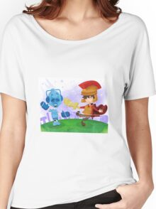 Doctor Who babies - inspired by Rory and the Cybermen Women's Relaxed Fit T-Shirt
