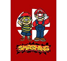 Smashing- B Photographic Print