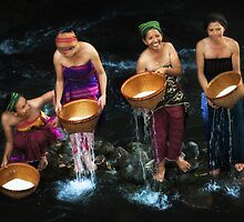 Rice Washing Ceremony (Bisoq Beras) by Mieke Boynton