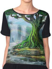 The Elder Tree Chiffon Top