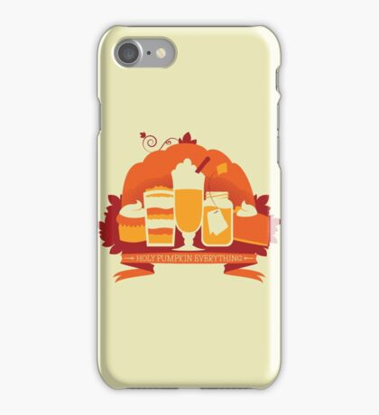 Holy Pumpkin Everything iPhone Case/Skin