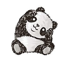 Cute Panda Photographic Print
