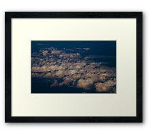 Untitled - sunset clouds Framed Print