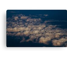 Untitled - sunset clouds Canvas Print