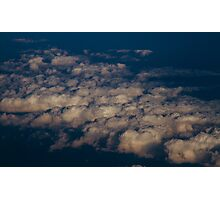 Untitled - sunset clouds Photographic Print