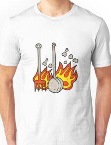cartoon hot fireside tools Unisex T-Shirt