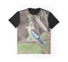 Blue Kookaburra Graphic T-Shirt