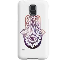 Purple Orange Fatima Hand Hamsa Samsung Galaxy Case/Skin