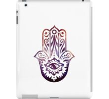 Purple Orange Fatima Hand Hamsa iPad Case/Skin