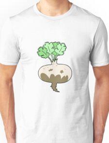 cartoon muddy turnip Unisex T-Shirt