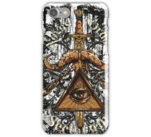 Iluminati-new world order iPhone Case/Skin