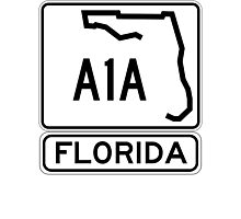 A1A - Florida - Sun and Fun! Photographic Print