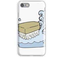 cartoon scrubbing brush iPhone Case/Skin