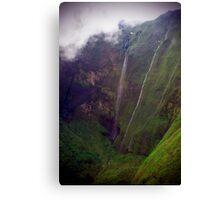 Mistic Falls - Napali Coast - Kauai  Canvas Print