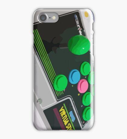 Arcade Sega Stick iPhone Case/Skin