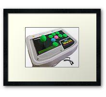 Arcade Sega Stick Framed Print
