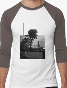 True Detective : Take Off Your Mask Men's Baseball ¾ T-Shirt