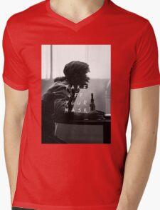 True Detective : Take Off Your Mask Mens V-Neck T-Shirt