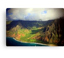 Napali Coast - Kauai Canvas Print