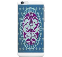 Exotic purple mask to give drama to your phone case iPhone Case/Skin