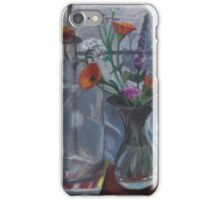 Still life with bottle iPhone Case/Skin